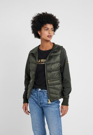 Light jacket - moto green