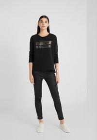 Barbour International - RELAY OVERLAYER - Sweatshirt - black - 1