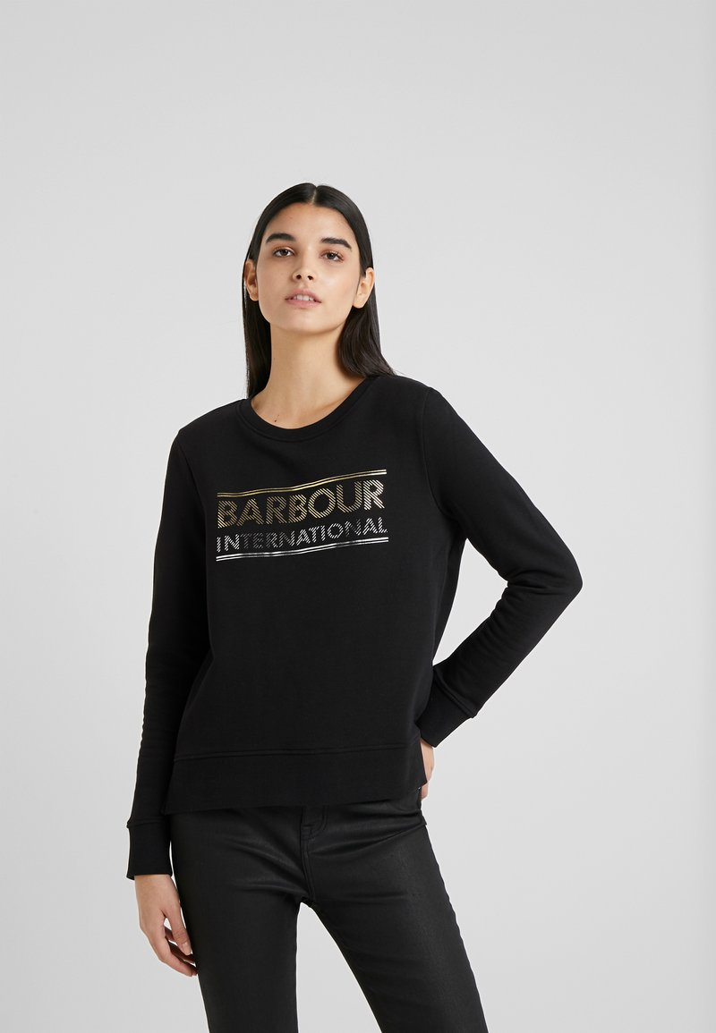 Barbour International - RELAY OVERLAYER - Sweatshirt - black