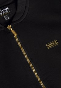 Barbour International - MAGNA OVERLAYER - Mikina na zip - black - 2