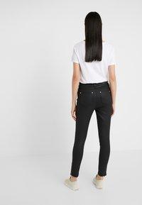 Barbour International - COATED DURANT  - Jeans Skinny Fit - black - 2