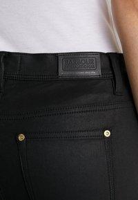Barbour International - COATED DURANT  - Jeans Skinny Fit - black - 4