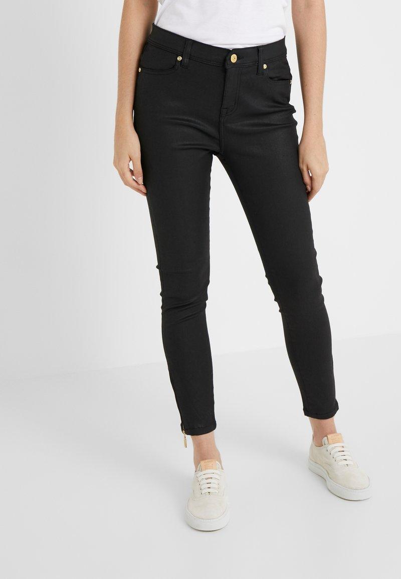 Barbour International - COATED DURANT  - Jeans Skinny Fit - black