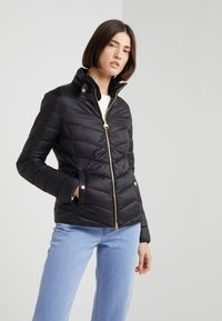 Barbour International - AUBERN QUILT - Light jacket - black - 1