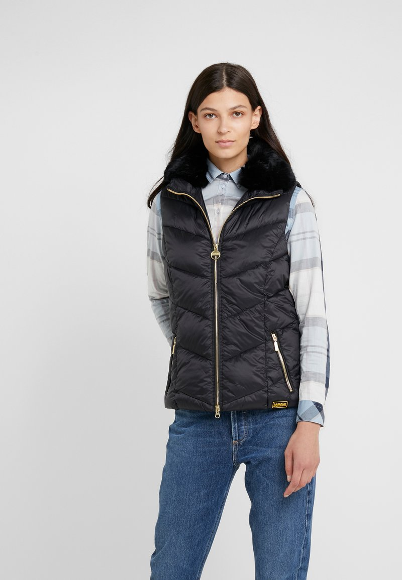 Barbour International - NURBURG GILET - Weste - black