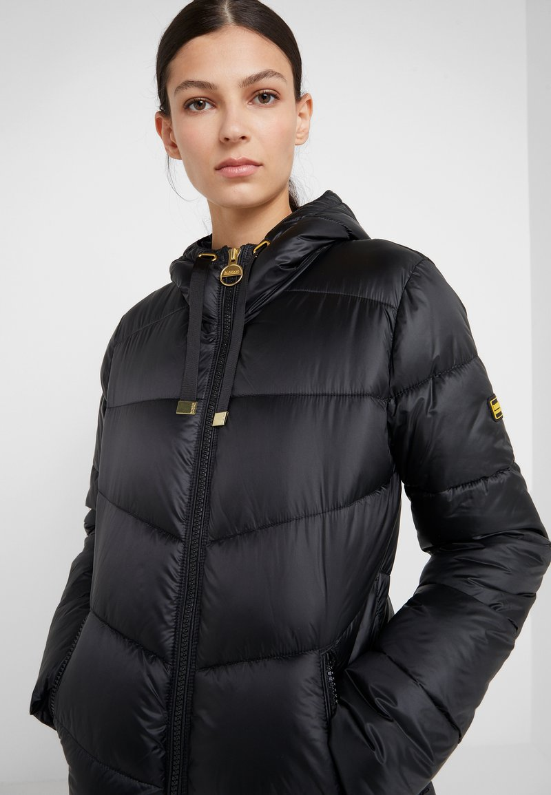 Barbour International - BRACE QUILT - Winterjacke - black