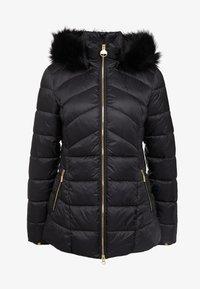 Barbour International - HAMPTON QUILT - Zimní kabát - black - 7