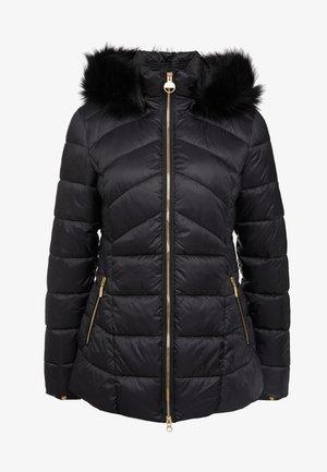 HAMPTON QUILT - Płaszcz zimowy - black