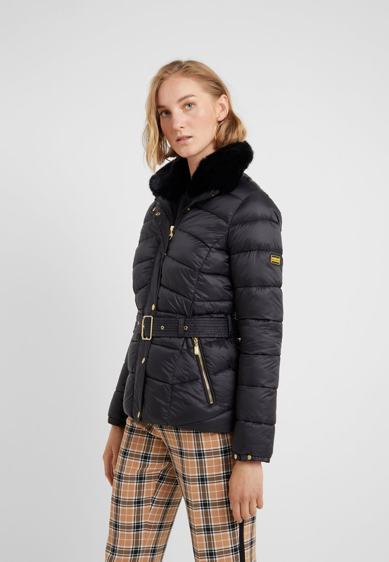 Barbour International - CIRCUIT QUILT - Winterjacke - black