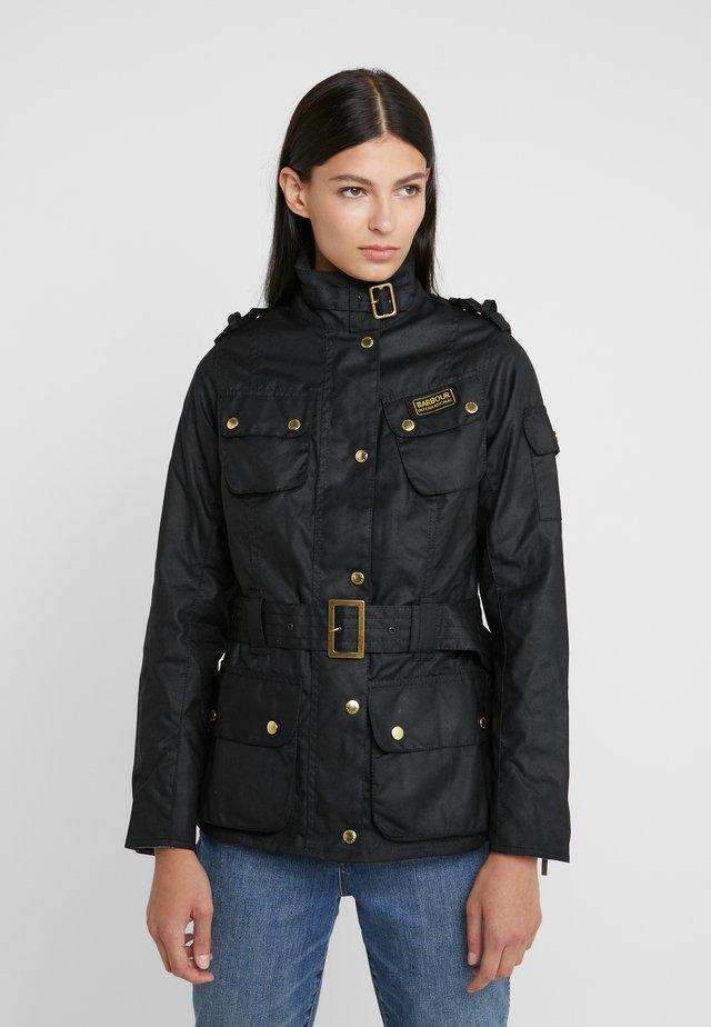 LADIES INTERNATIONAL - Summer jacket - black