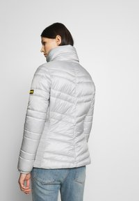 Barbour International - RALLY QUILT - Light jacket - ice white - 2
