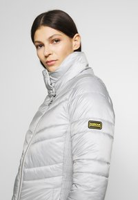 Barbour International - RALLY QUILT - Light jacket - ice white - 4
