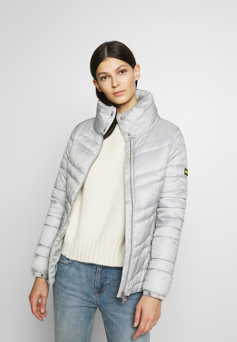 Barbour International - RALLY QUILT - Light jacket - ice white
