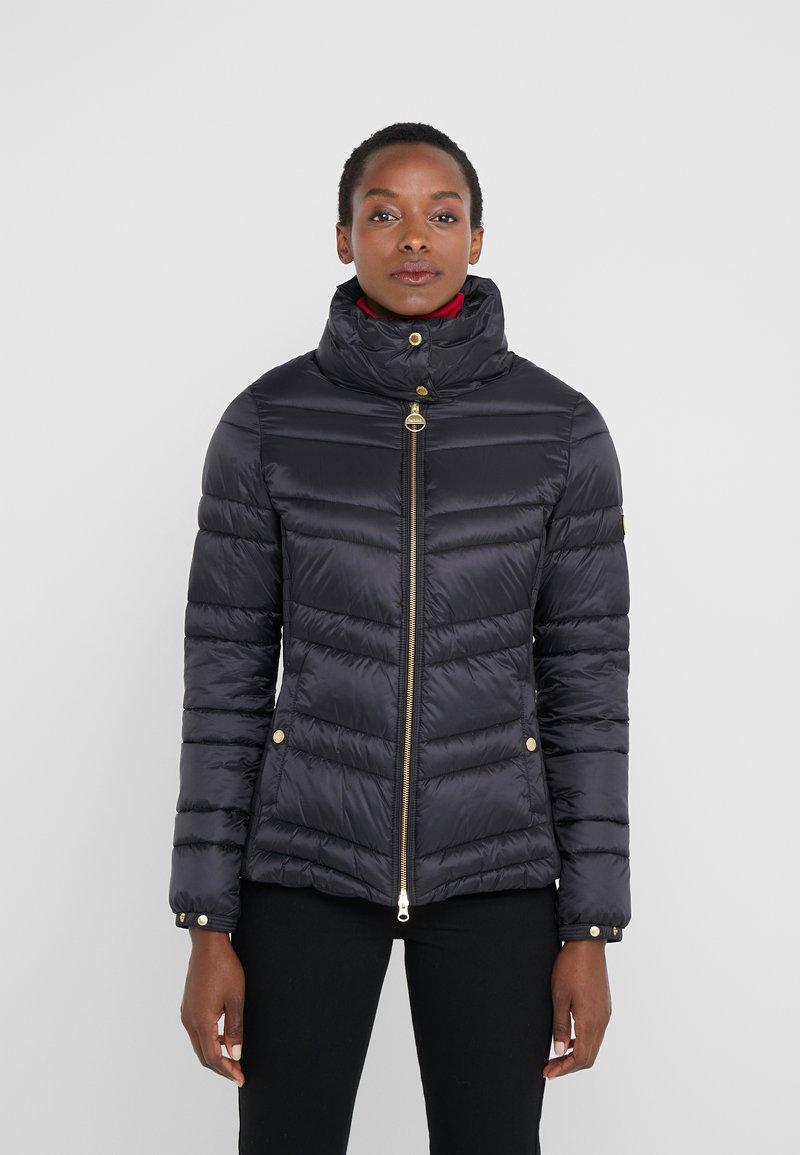 Barbour International - RALLY QUILT - Light jacket - black