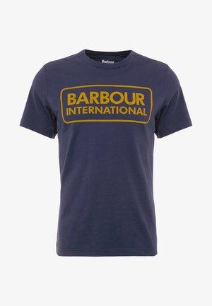 ESSENTIAL LARGE LOGO TEE - T-Shirt print - navy