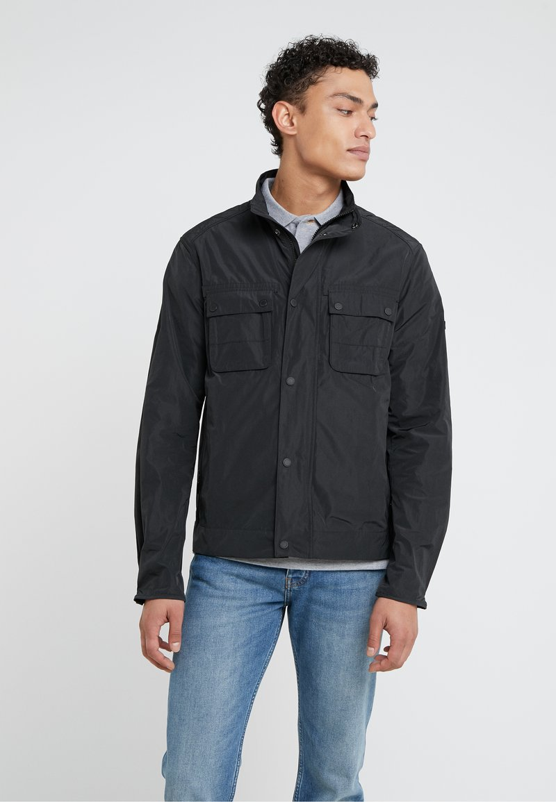 Barbour International - STANNINGTON CASUAL - Summer jacket - black