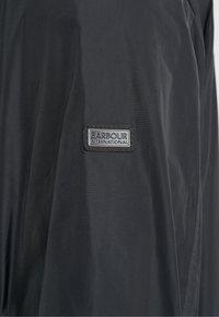 Barbour International - STANNINGTON CASUAL - Lehká bunda - black - 5