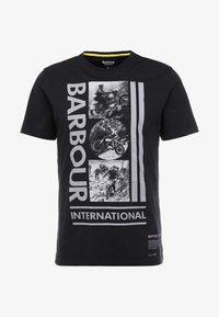 Barbour International - MONO TEE - T-shirt print - black - 3