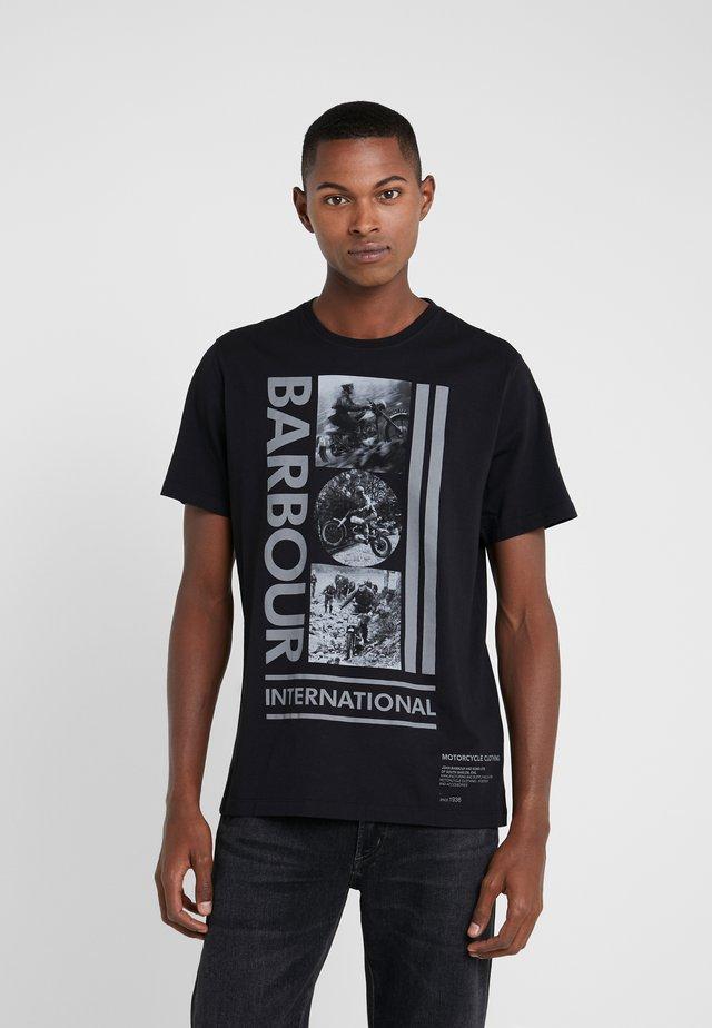 MONO TEE - T-Shirt print - black