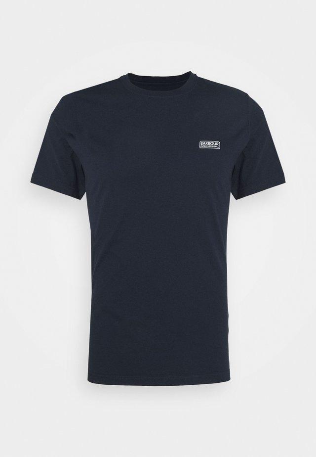 SMALL LOGO TEE - T-Shirt print - navy