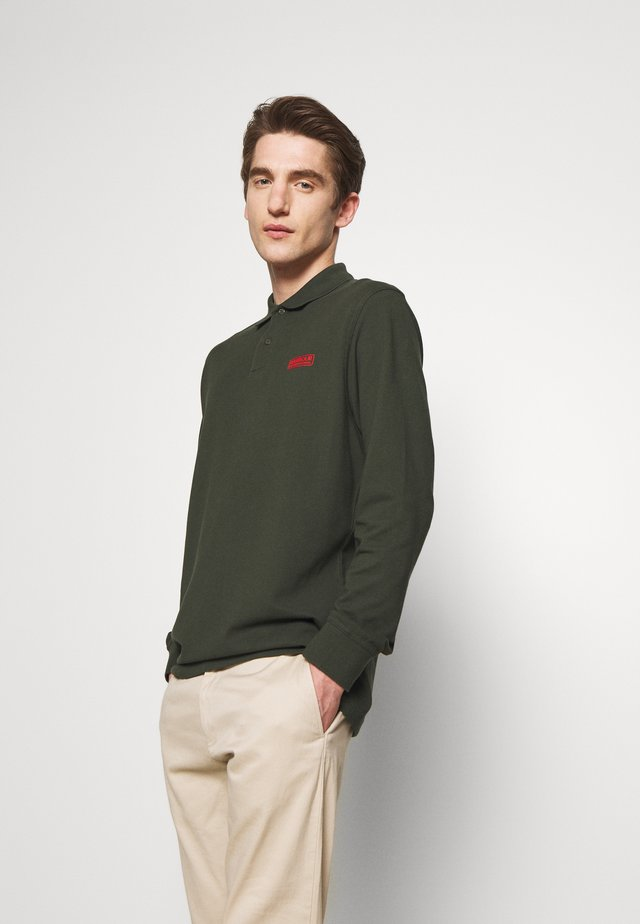 Polo shirt - jungle green