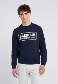 Barbour International - LARGE LOGO - Sweatshirt - navy - 0