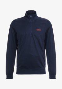 Barbour International - HALF ZIP TRACK - Sweater - navy - 3
