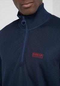 Barbour International - HALF ZIP TRACK - Sweater - navy - 4