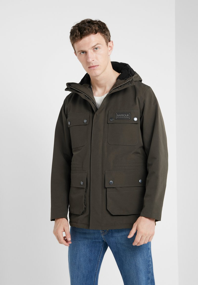 Barbour International - Jas - olive