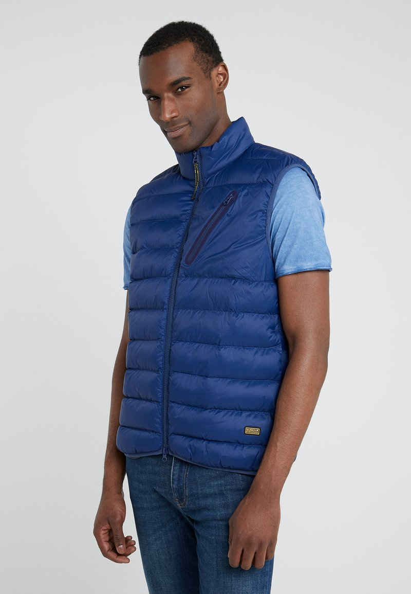 Barbour International - BRAKE GILET - Waistcoat - regal blue
