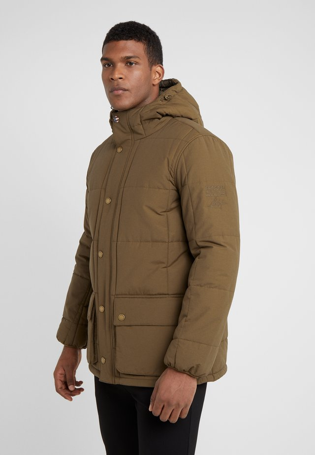 GOSHEN QUILT - Winter jacket - army green