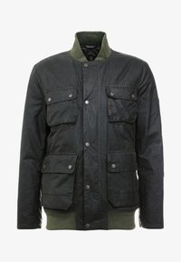 Barbour International - EDHILL WAX - Bomberjacks - olive - 4
