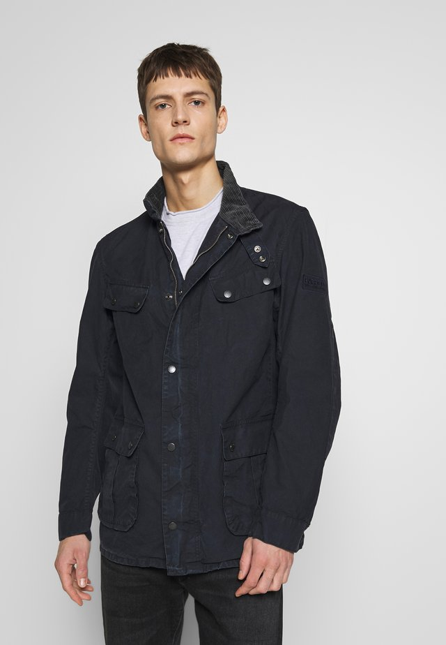 COLOURED DUKE CASUAL - Summer jacket - navy