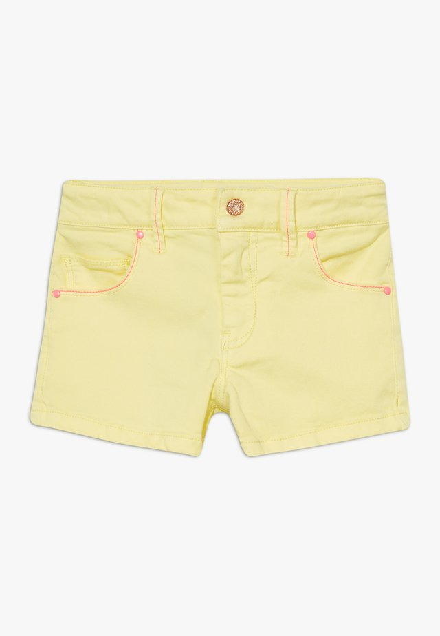 Jeansshorts - lime