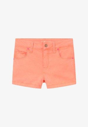 Szorty jeansowe - peach