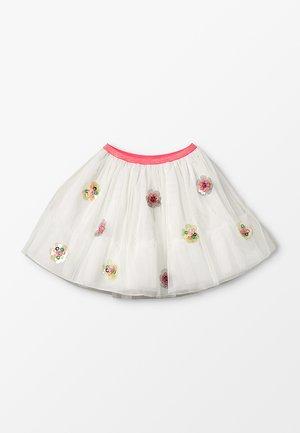 Mini skirt - elfenbein