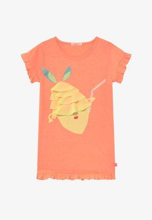 Jersey dress - peach