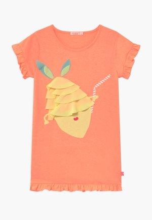 Jerseykleid - peach