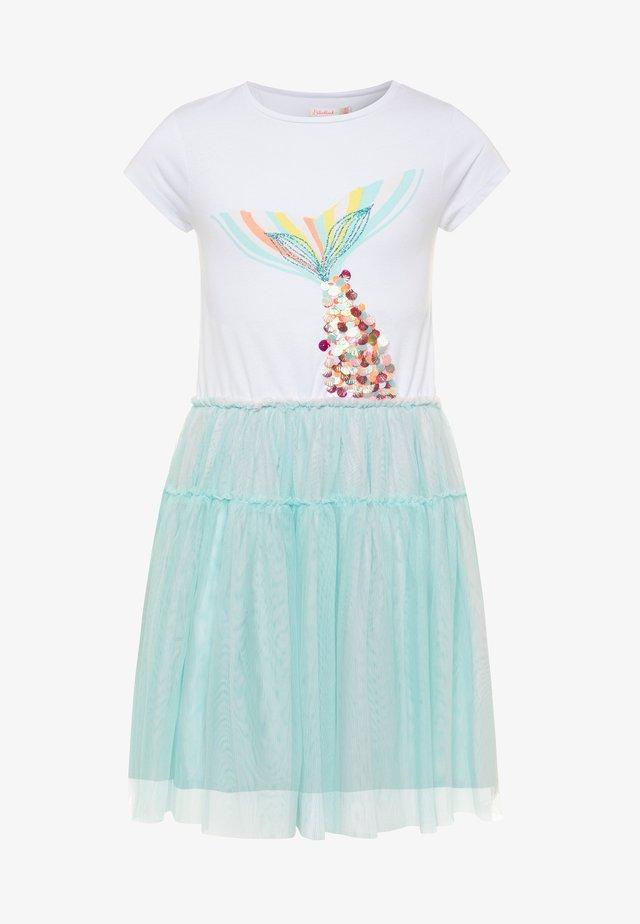 DRESS - Jersey dress - turquoise