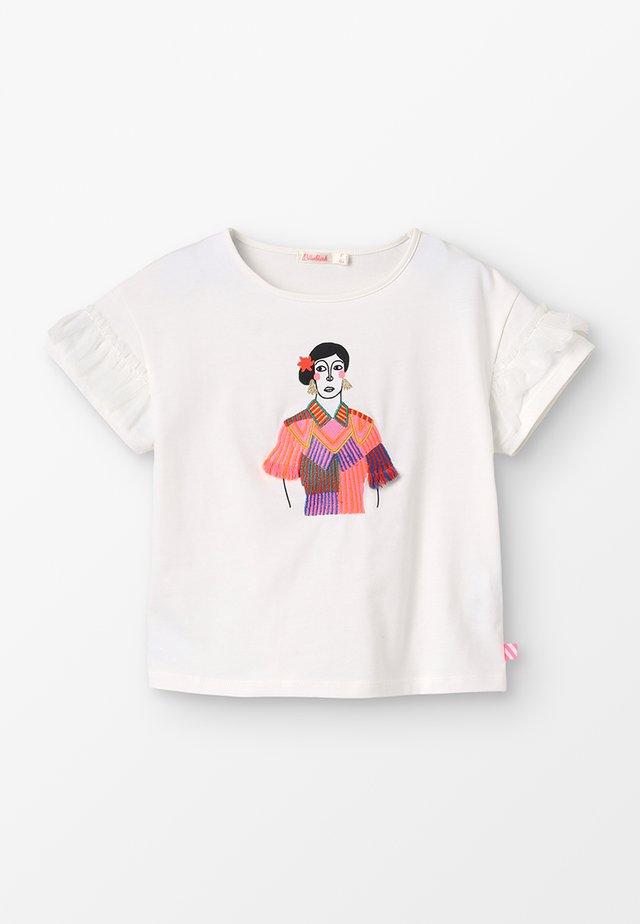 T-shirt print - elfenbein
