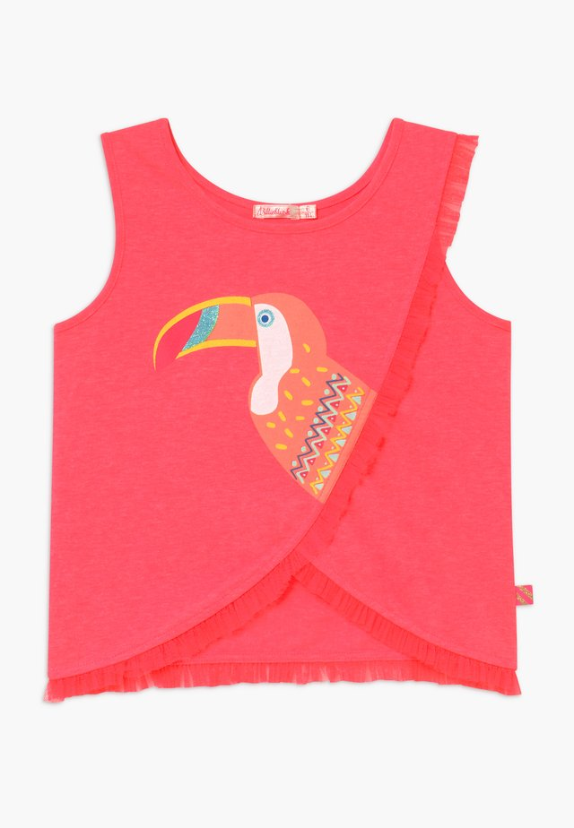 TANK - Top - fuschia