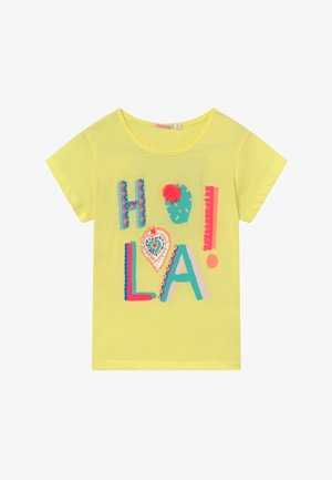 T-shirt z nadrukiem - lime