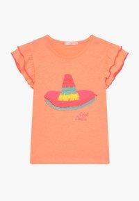 Billieblush - T-shirt z nadrukiem - peach - 0