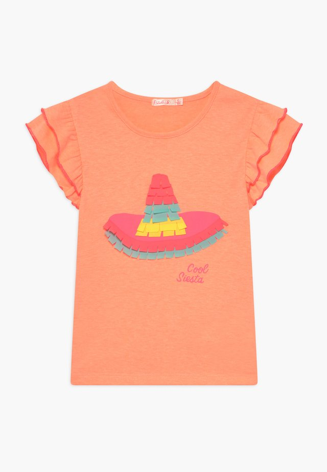 Camiseta estampada - peach
