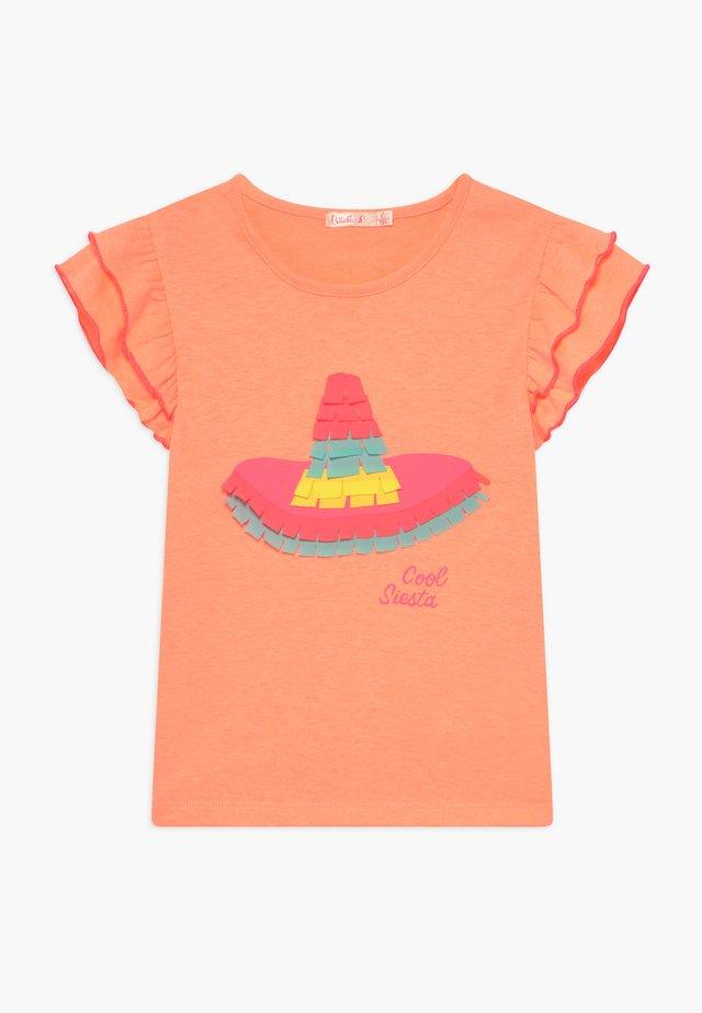 T-shirts print - peach