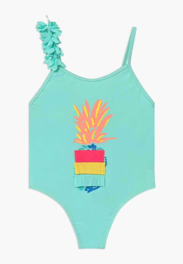 SWIMMING COSTUME - Uimapuku - turquoise
