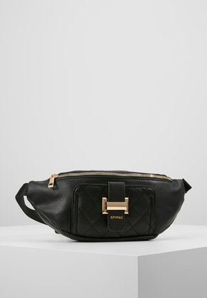 LABEL BUM BAG - Rumpetaske - black