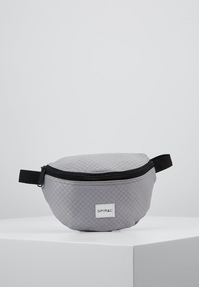 BUM BAG - Ledvinka - palace grey