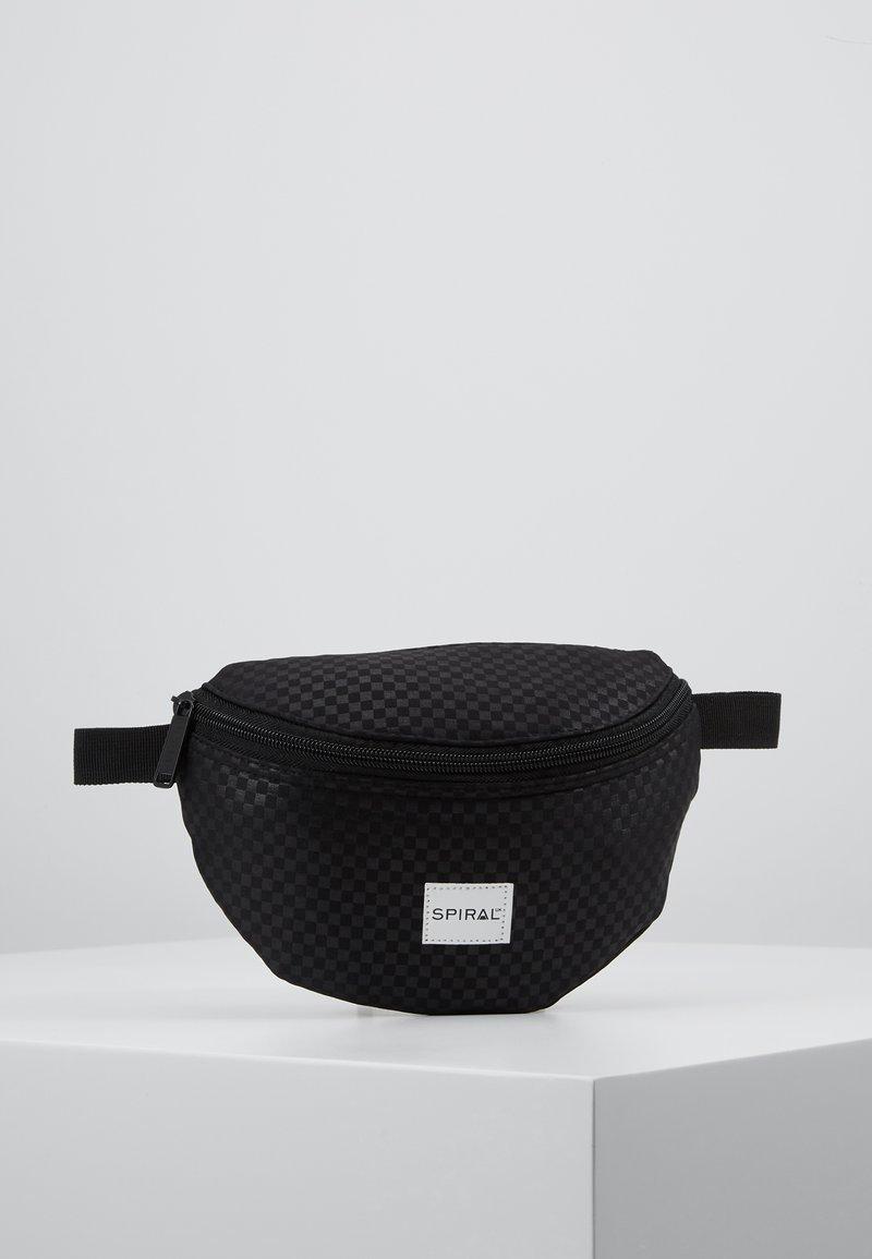 Spiral Bags - BUM BAG - Marsupio - palace black
