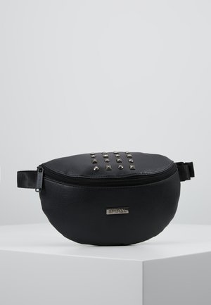 LABEL BUM BAG - Ledvinka - plaza